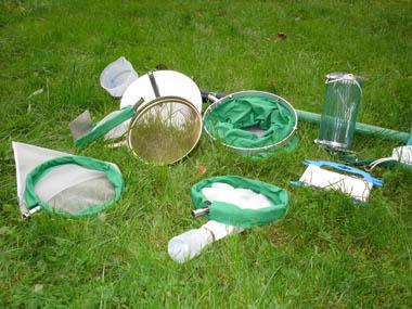 Geräte zur biologischen Wasseruntersuchung