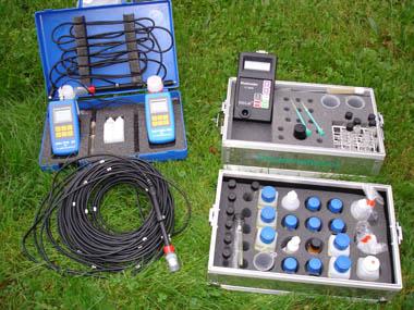 Geräte für die chemische Wasseruntersuchung